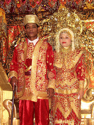 300px-Minangkabau_wedding Wedding Reception: Be the Reds!