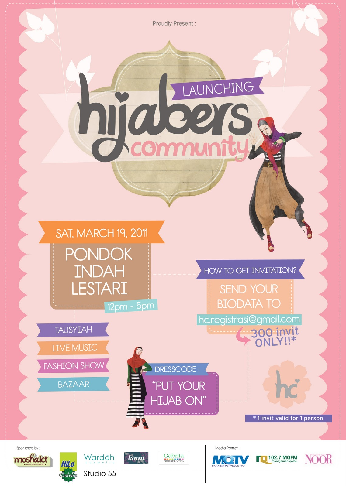 ok Hijabers Community Launching Is On The Way!