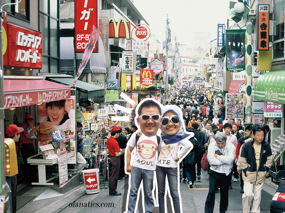 bblog-6-Harajuku 2nd Honeymoon Trip To Japan With JR East