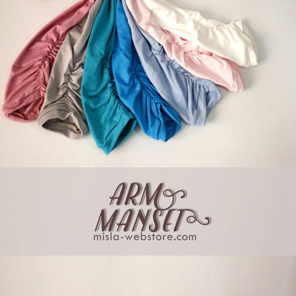 b-AM-pastel Arm Manset to Complete Your Muslimah Look