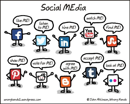 social-media1 Tips Ngeblog 6: Mengenal Sosial Media
