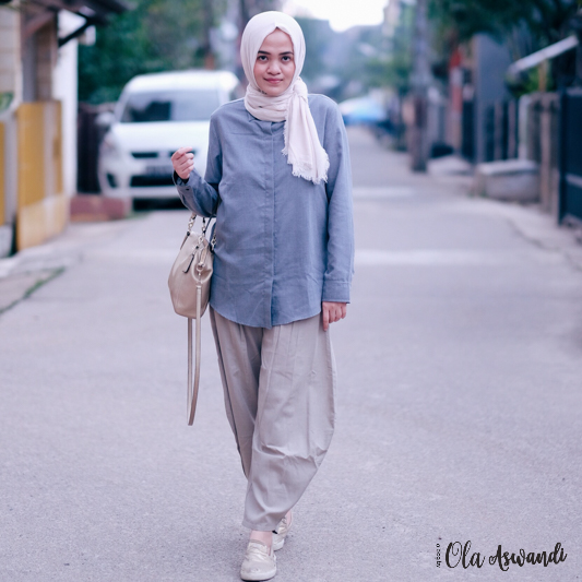 ootd-simple-11 Lookbook: Modest Basic Look