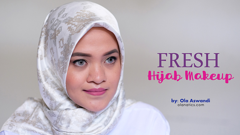 fresh hijab makeup