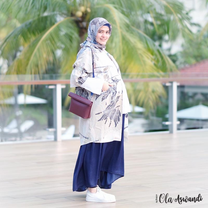 inspirasi-gaya-hamil-32 9 Inspirasi #OOTD Bagi Ibu Hamil