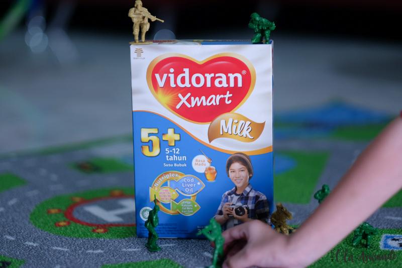 vidoran-4 Main Bareng Mas Kal bersama vidoran Xmart 5+