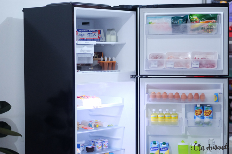 LG Smart Inverter Refrigerator 4 Review Lemari Es Linear Top Freezer