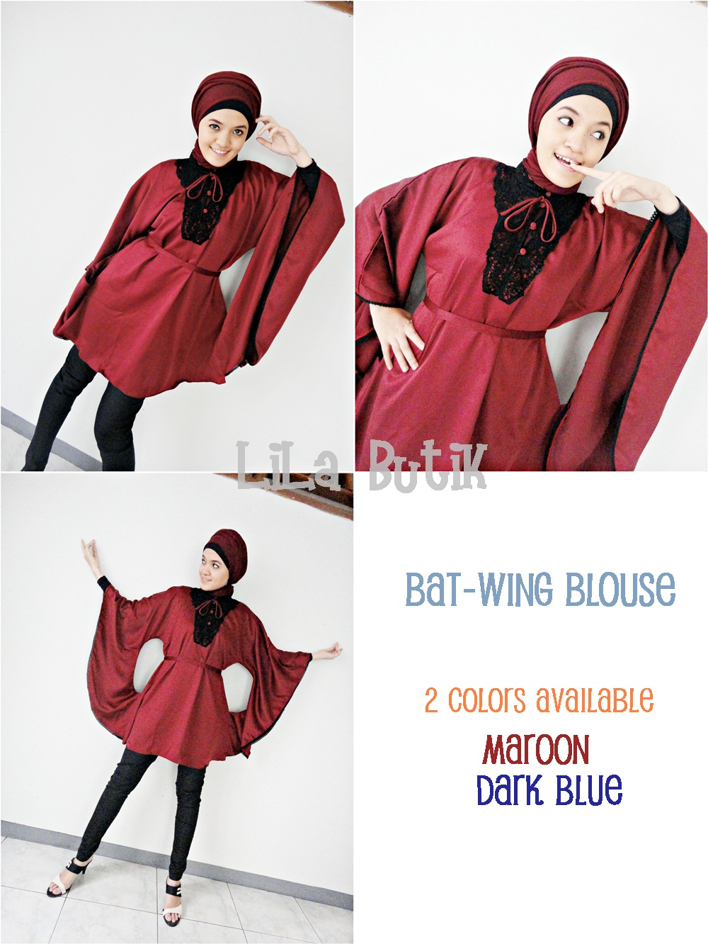 bat-wing-blouse LiLa Butik: Me and My Friend's On-and-Off Online Shop (^____^)v
