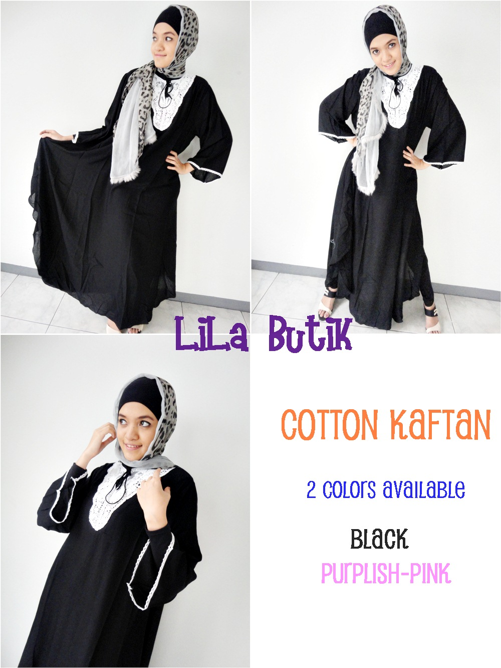 cotton-kaftan LiLa Butik: Me and My Friend's On-and-Off Online Shop (^____^)v