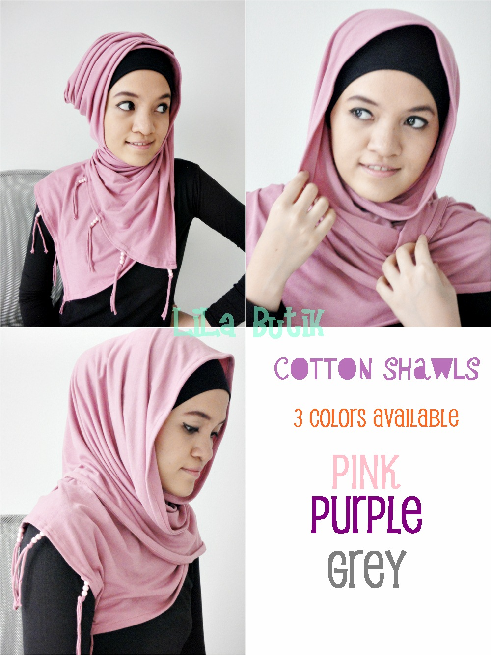 cotton-shawl LiLa Butik: Me and My Friend's On-and-Off Online Shop (^____^)v