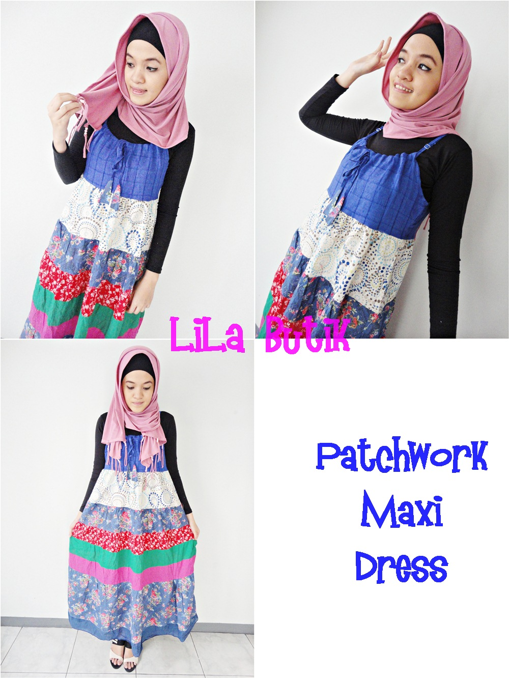maxi-dress LiLa Butik: Me and My Friend's On-and-Off Online Shop (^____^)v