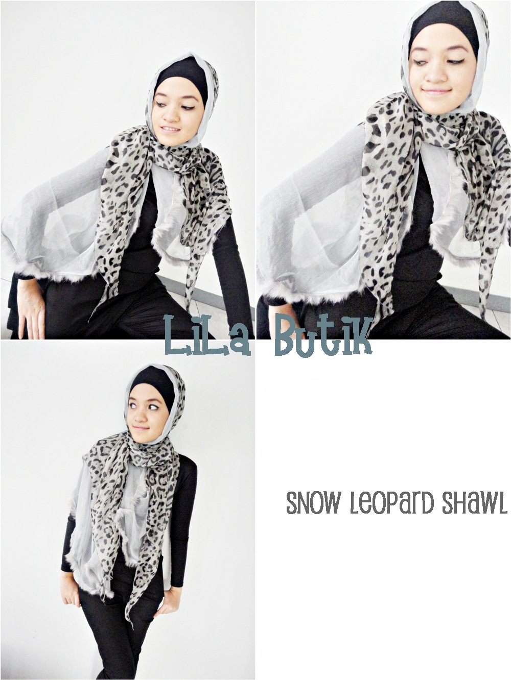 snow-leopard LiLa Butik: Me and My Friend's On-and-Off Online Shop (^____^)v