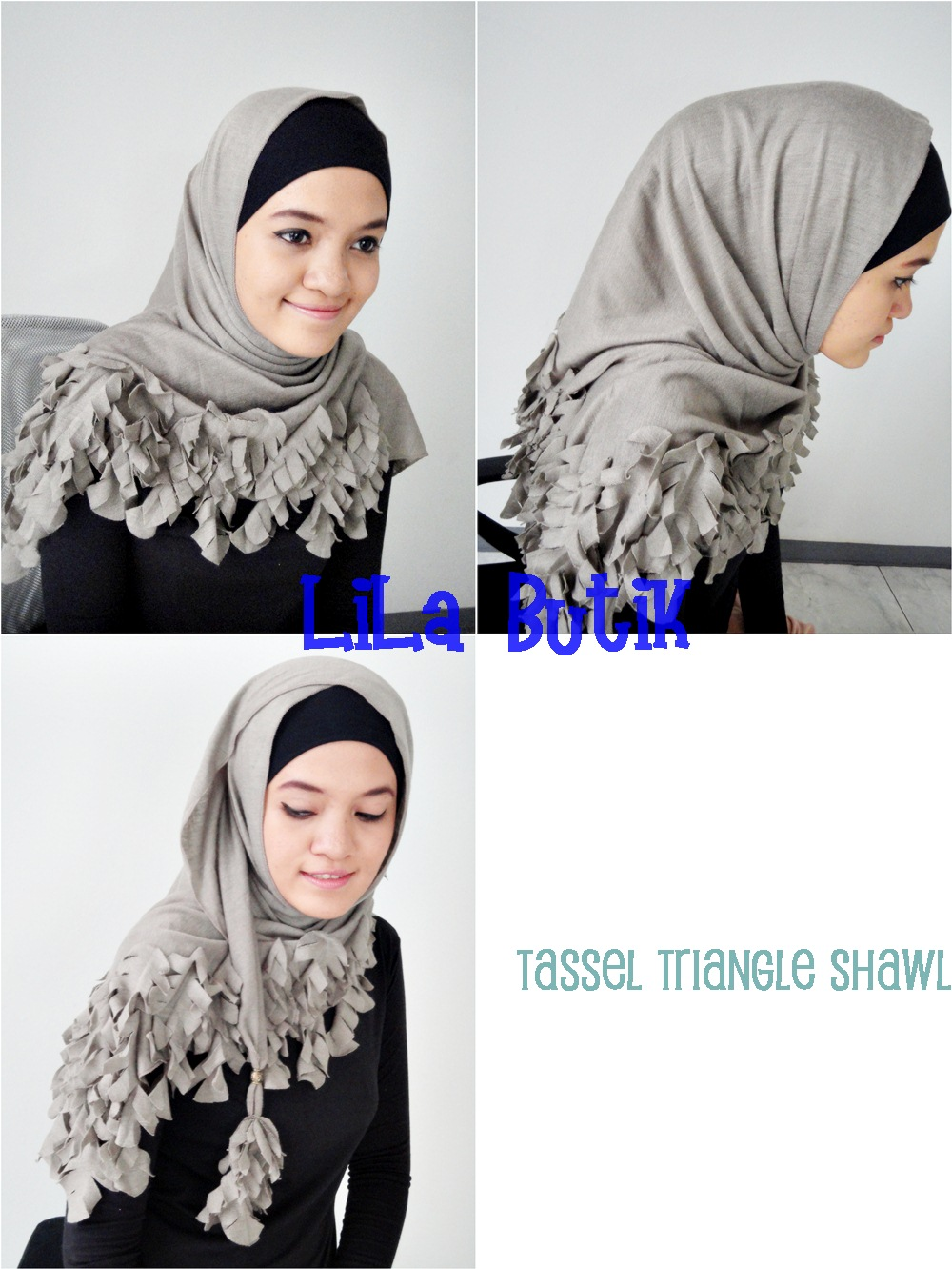 tassel-shawl LiLa Butik: Me and My Friend's On-and-Off Online Shop (^____^)v