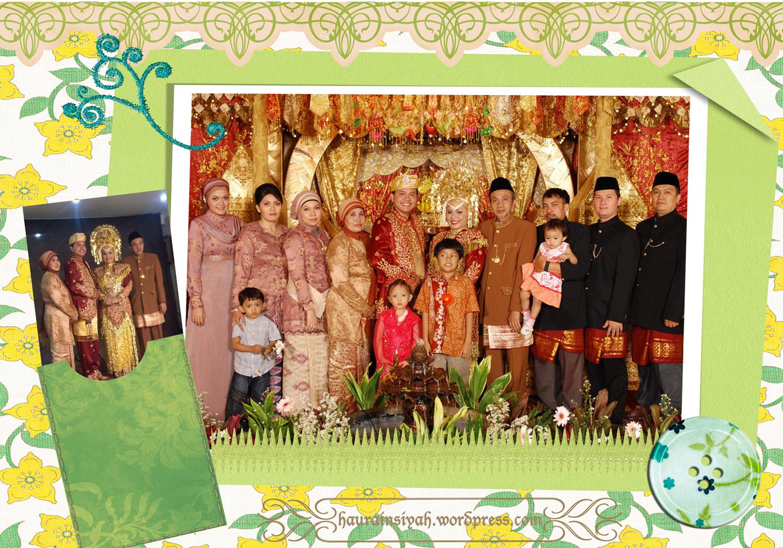 nikahan-abang Simple Abaya on My Bro's Wedding Day