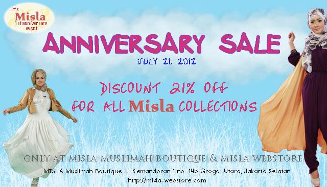 anniversary-sale MISLA 1st Anniversary Events: Anniv. Sale & Hijab Playdate