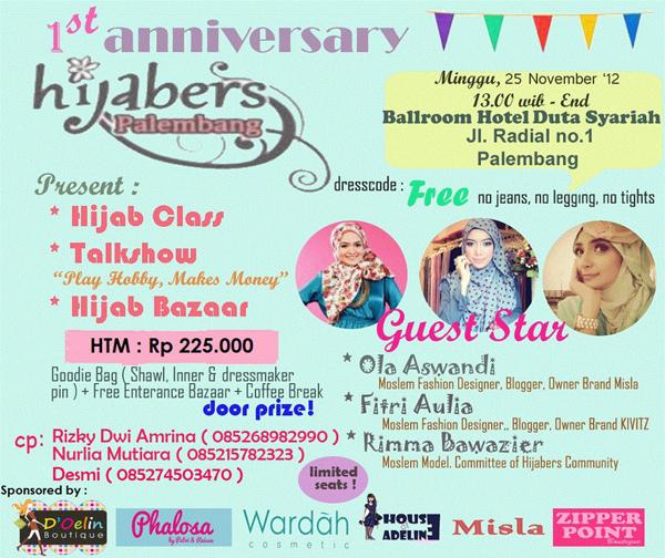 hijabers-palembang Let's Meet Up in Palembang!