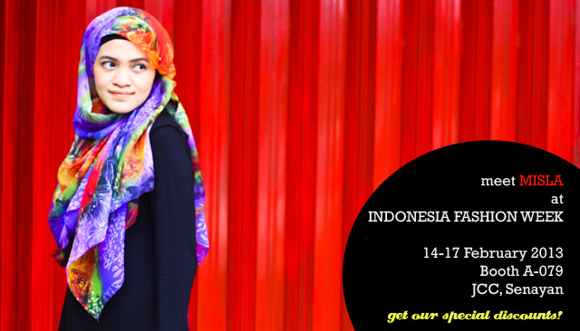banner-ifw MISLA at Indonesia Fashion Week