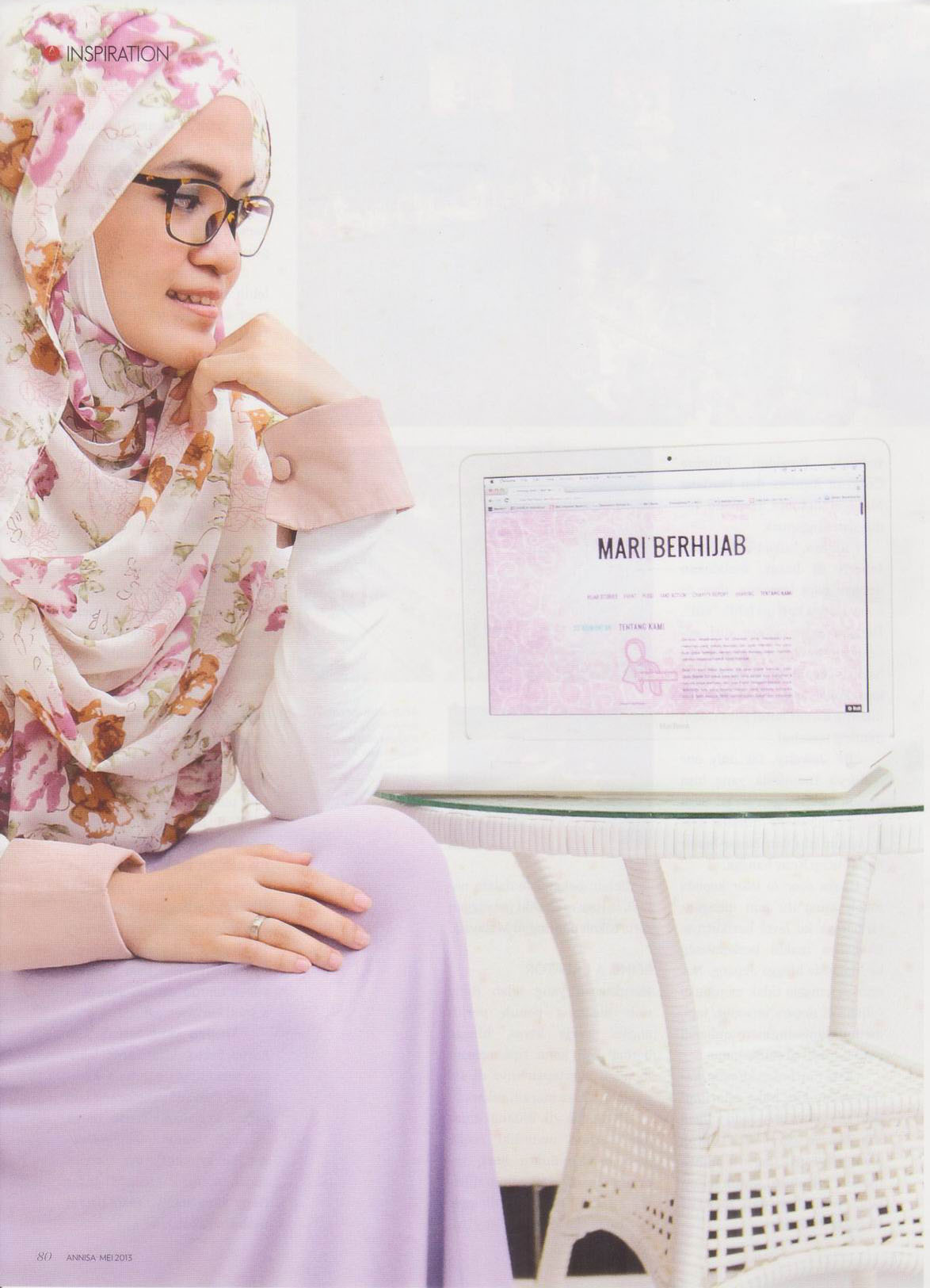 img Media Exposure: Annisa Magazine - May 2013