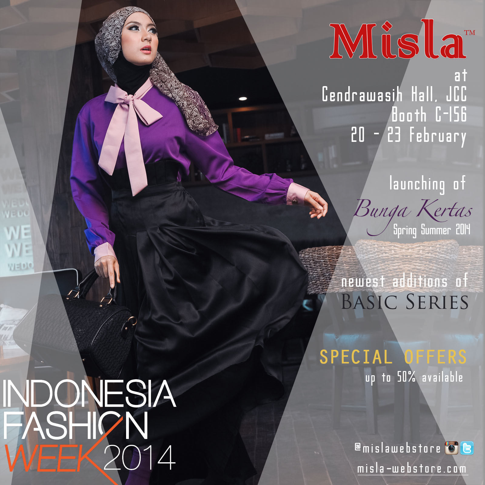 banner-ig MISLA at Indonesia Fashion Week 2014