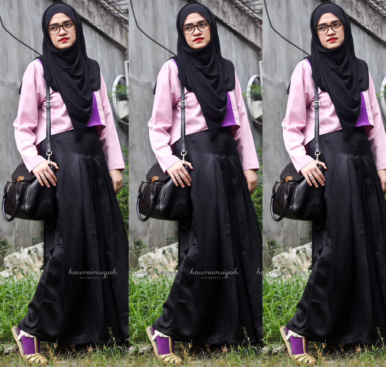 black-shawl-g When Pink Meets Black