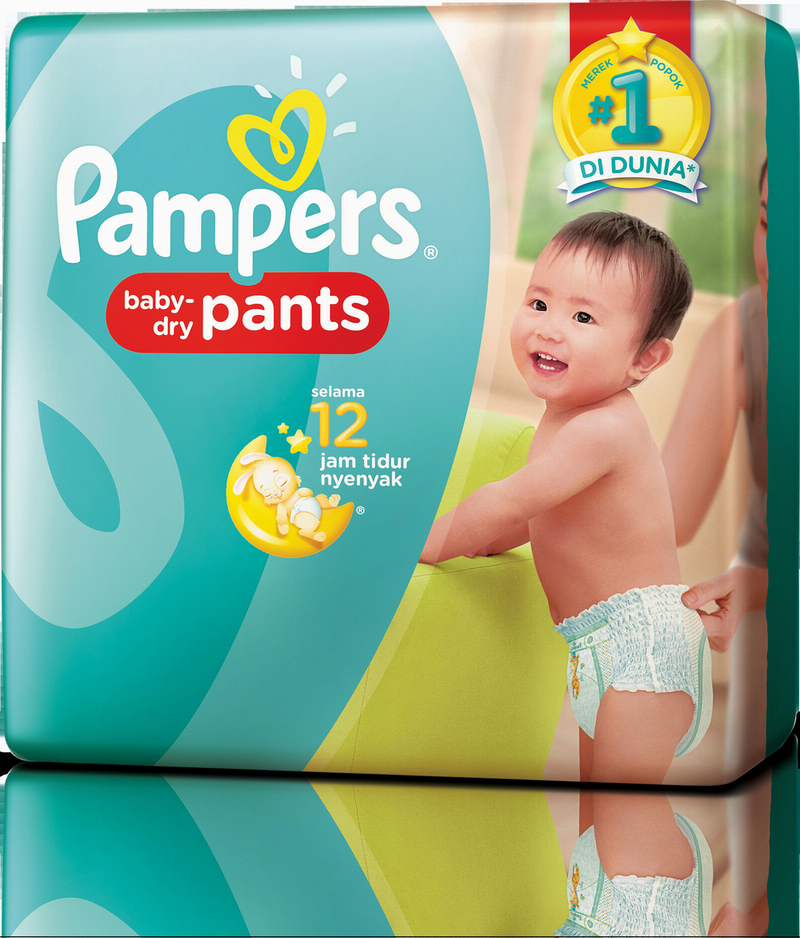 PackShot Senyum Pagi Bayi no. 1 di Indonesia