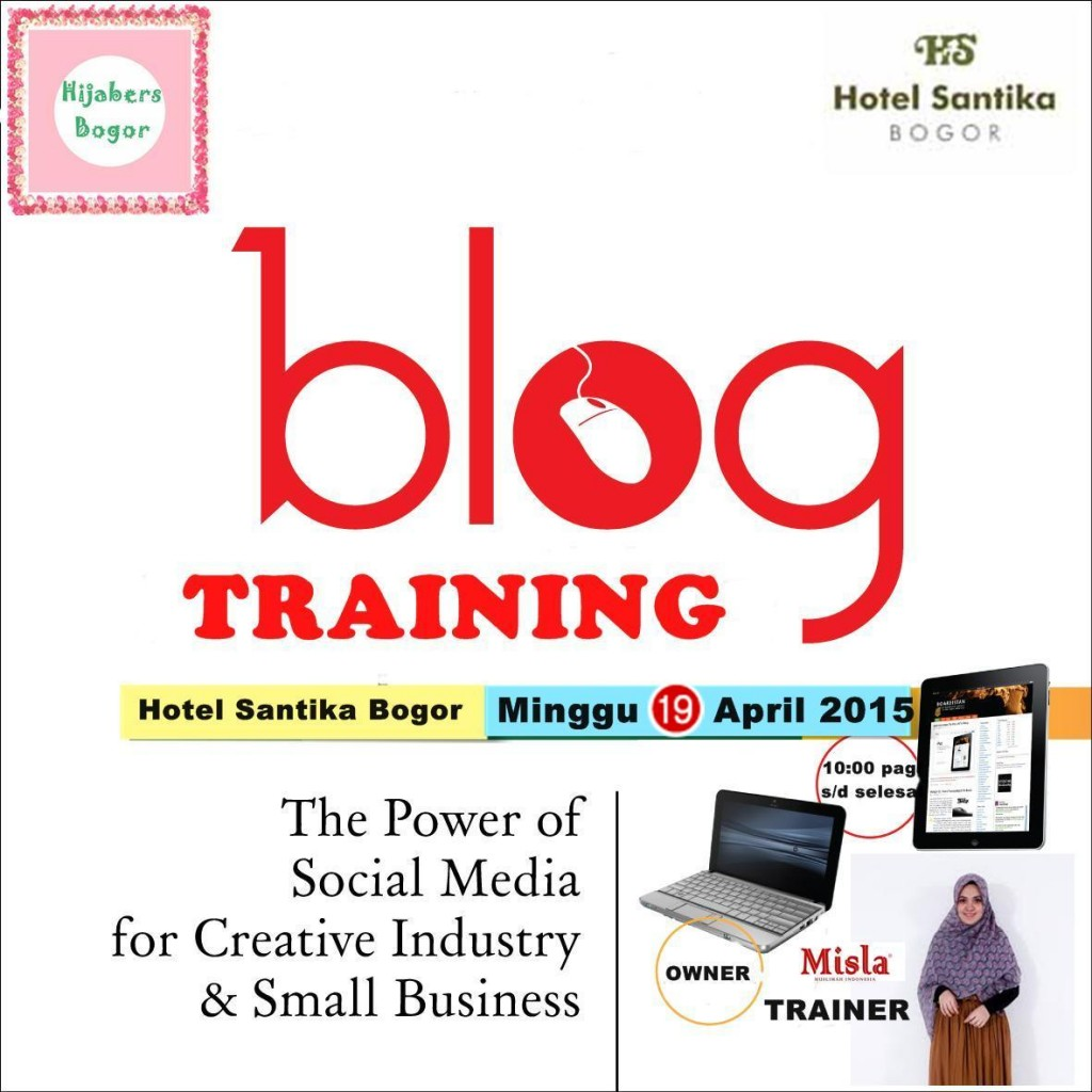 REVISI-1024x1024 Event: Blog Training for Creative Industry & Small Business