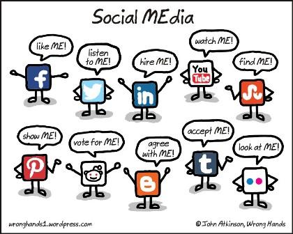 social-media1 Tips Ngeblog 6: Mengenal Sosial Media