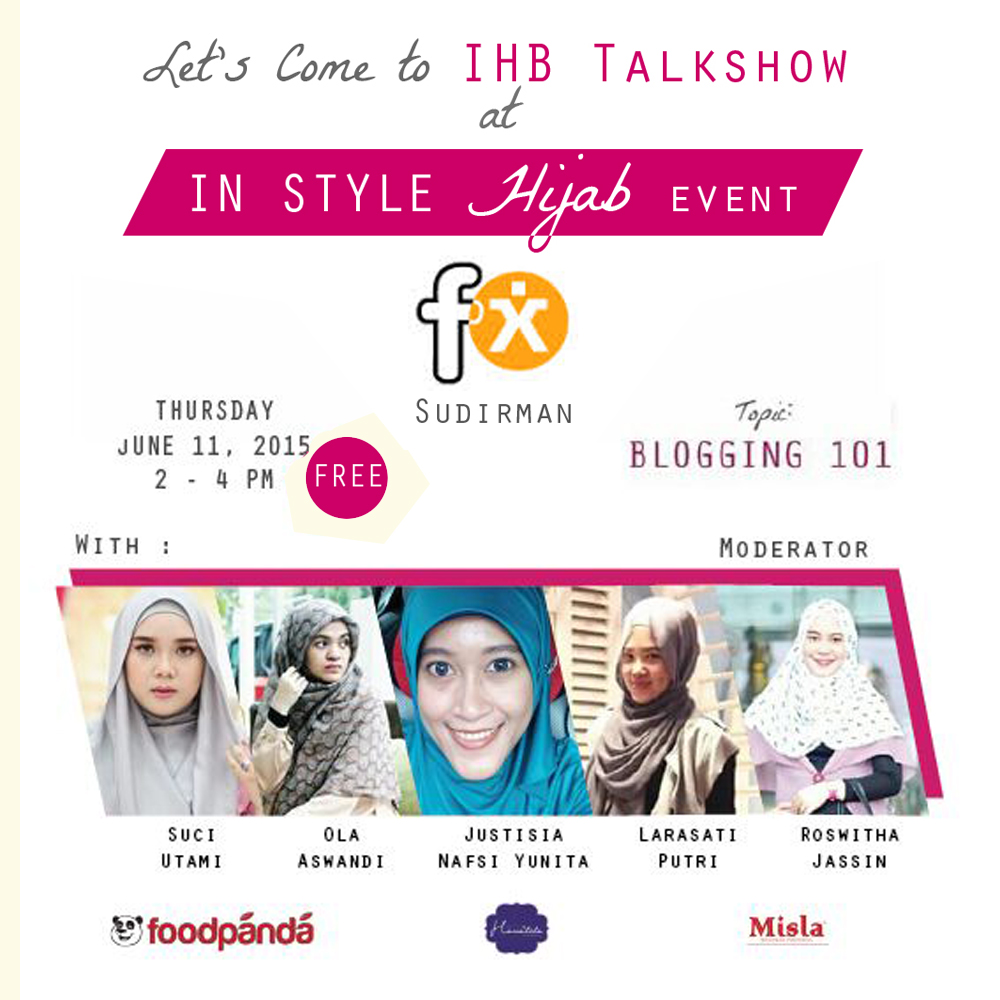 IHB-Blogging-101-with-photo1 Event: IHB Talkshow at In Style Hijab