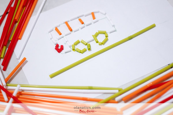 b-DIY-Kal-56 Kal's Sensory Play: Cut & Glue The Straws