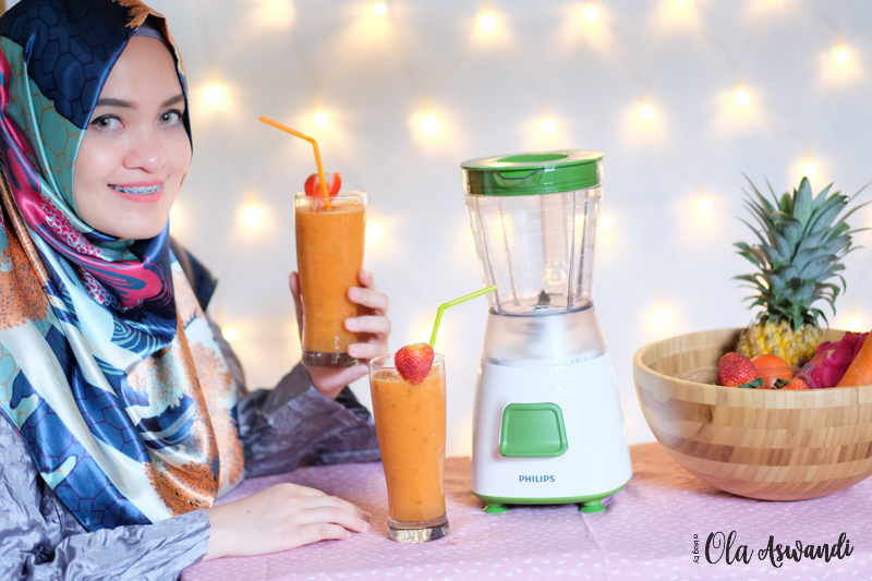 PHILIPS-REVIEW-108 Launching & Review Philips Blender HR 2057