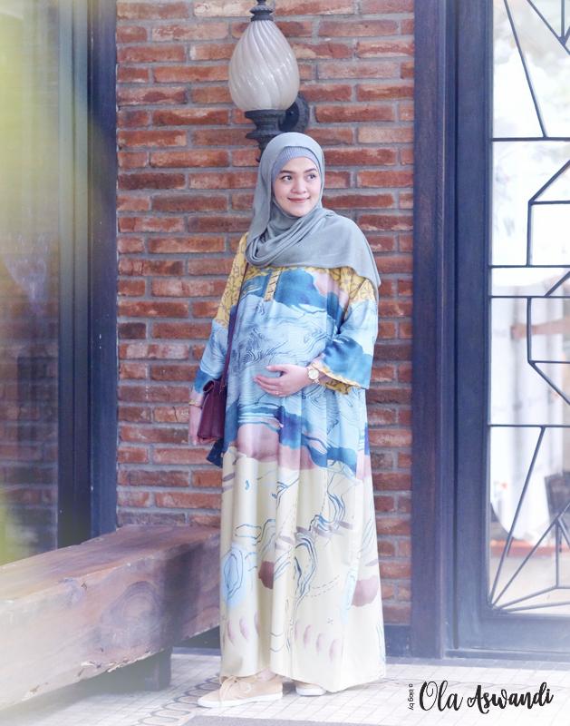 inspirasi-gaya-hamil-17 9 Inspirasi #OOTD Bagi Ibu Hamil